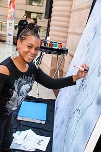 #charleshwrightmuseum #thewright #fordfreedomawards2017 #fordmotorcompany #talentsthatunite #floydnorman #augustwilson  #africanamericanartists #annistiquephotography