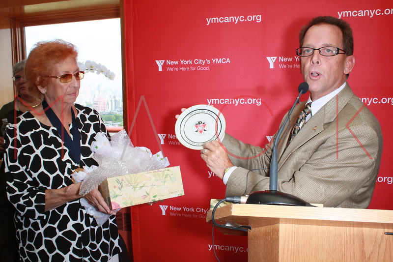 """The Rena """"Rusty"""" Kanokogi YMCA Gold Medal Luncheon at Prospect Park YMCA Rooftop on August 21, 2009 in the Borough of Brooklyn in New York City."""