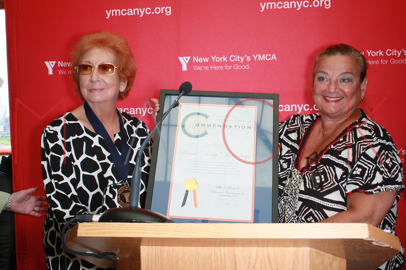 "The Rena ""Rusty"" Kanokogi YMCA Gold Medal Luncheon at Prospect Park YMCA Rooftop on August 21, 2009 in the Borough of Brooklyn in New York City."