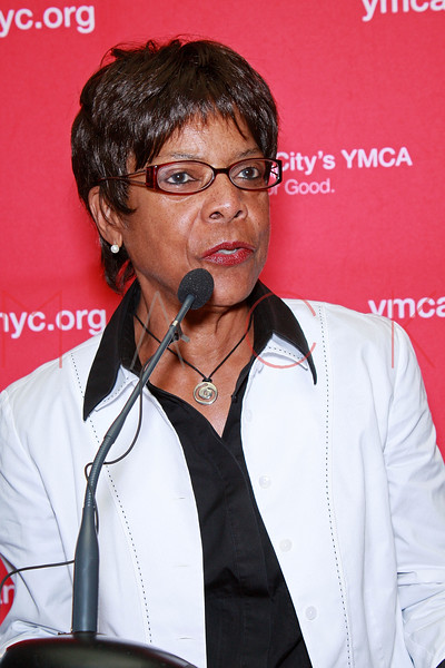 "NEW YORK - AUGUST 21:  Senior director of Athlete Marketing & Promotions for Women's Sports Foundation Yolanda L. Jackson attends the Rena ""Rusty"" Kanokogi YMCA Gold Medal Luncheon at Prospect Park YMCA Rooftop on August 21, 2009 in the Borough of Brooklyn in New York City.  (Photo by Steve Mack/S.D. Mack Pictures) *** Local Caption *** Yolanda L. Jackson"