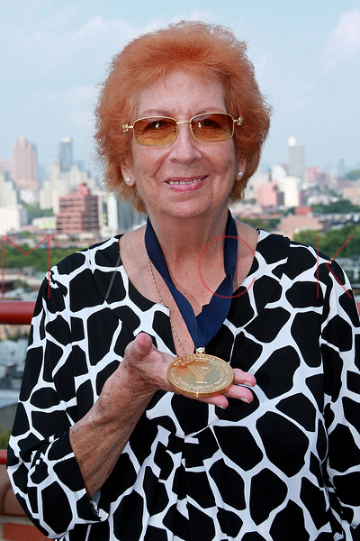 """NEW YORK - AUGUST 21:  Rena """"Rusty"""" Kanokogi attends the Rena """"Rusty"""" Kanokogi YMCA Gold Medal Luncheon at Prospect Park YMCA Rooftop on August 21, 2009 in the Borough of Brooklyn in New York City.  (Photo by Steve Mack/S.D. Mack Pictures) *** Local Caption *** Rena """"Rusty"""" Kanokogi"""
