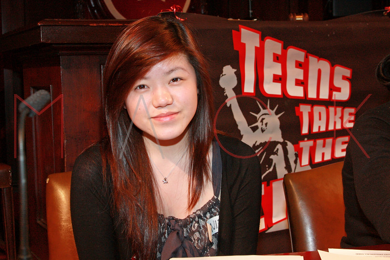 New York - April 15: Manhattan Borough President Jennifer Chien at Teens Take The City Hall Event 2010 at City Hall on Thursday, April 15, 2010 in New York, NY.  (Photo by Steve Mack/S.D. Mack Pictures)