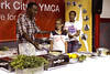 New York - August 13:  Chef Marcus Samuelsson demonstrating cooking methods and ingredients at YMCA of Greater New York's 2nd Annual Youth Health Forum with Award-Winning Chef Marcus Samuelsson at the Harlem YMCA on Friday, August 13, 2010 in New York, NY. (Photo by Steve Mack/S.D. Mack Pictures for YMCA of Greater New York)