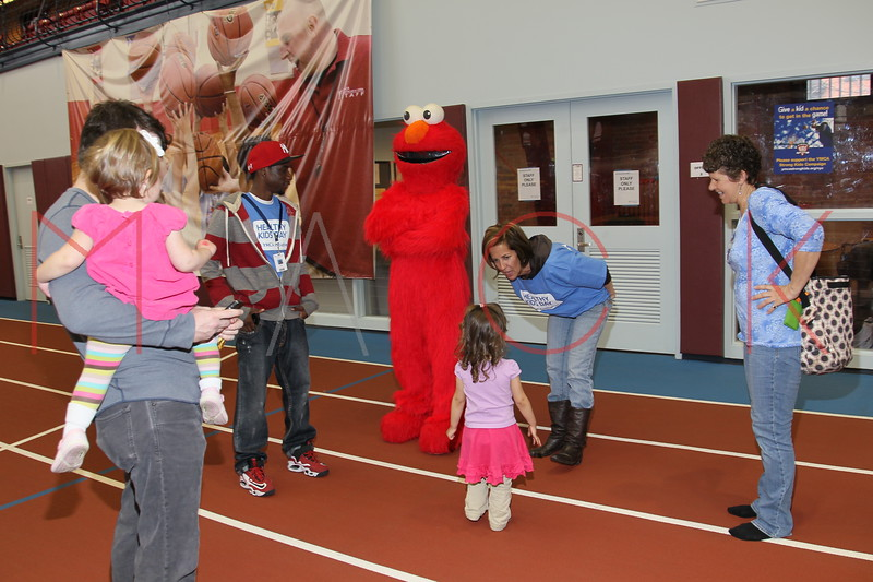 Brooklyn - April 16: Families attend the YMCA Armory's Healthy Kids Day 2011 at Park Slope Armory on Saturday, April 16, 2011 in Brooklyn, NY.  (Photo by Steve Mack/S.D. Mack Pictures)