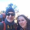 Kelly and John above Cedar Ridge