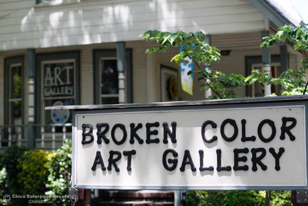 . The Broken Color Art Gallery Monday May 15, 2017 in Oroville, California. (Emily Bertolino -- Mercury Register)