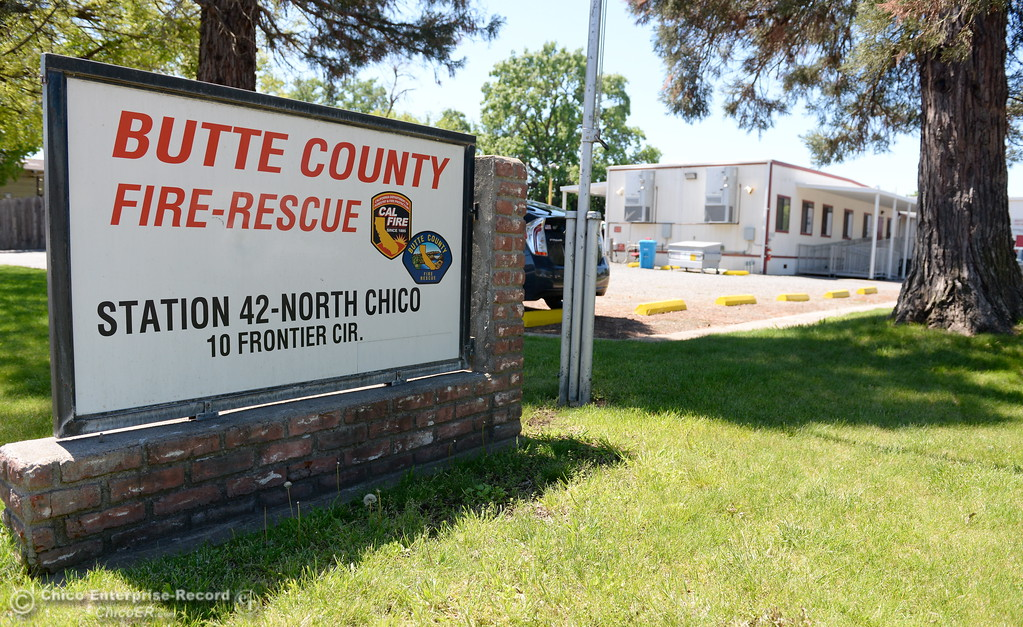 . Cal Fire Station 42 is located off of Cohasset Road in North Chico, Calif. Thurs. April 20, 2017.  (Bill Husa -- Enterprise-Record)