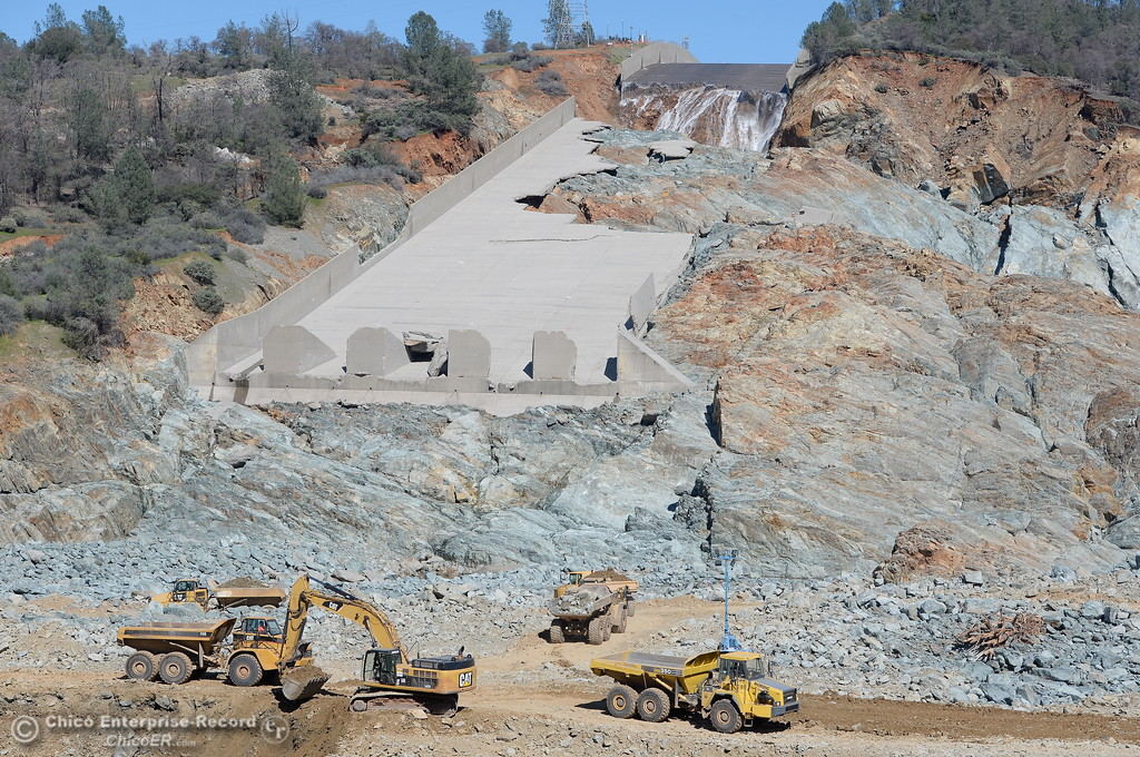 . in Oroville, Calif. Tuesday Feb. 28, 2017. (Bill Husa -- Enterprise-Record)