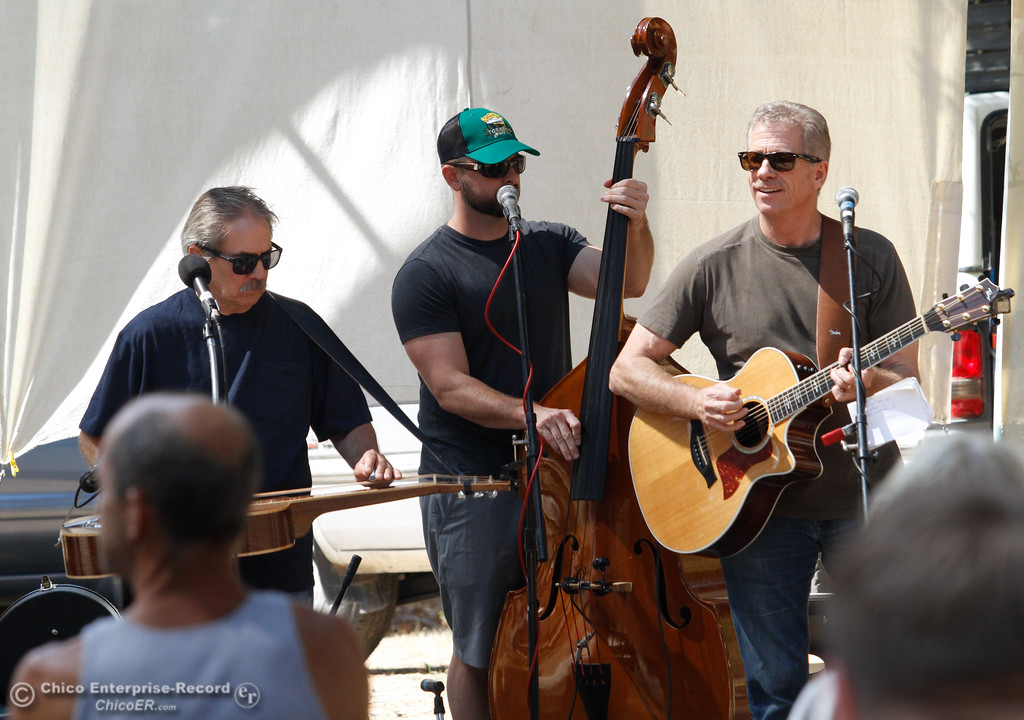 . The Crawlers bring pure acoustic joy to the 19th annual  Berry Creek Berry Festival Saturday August 12, 2017 in Berry Creek, California. (Emily Bertolino -- Enterprise- Record)
