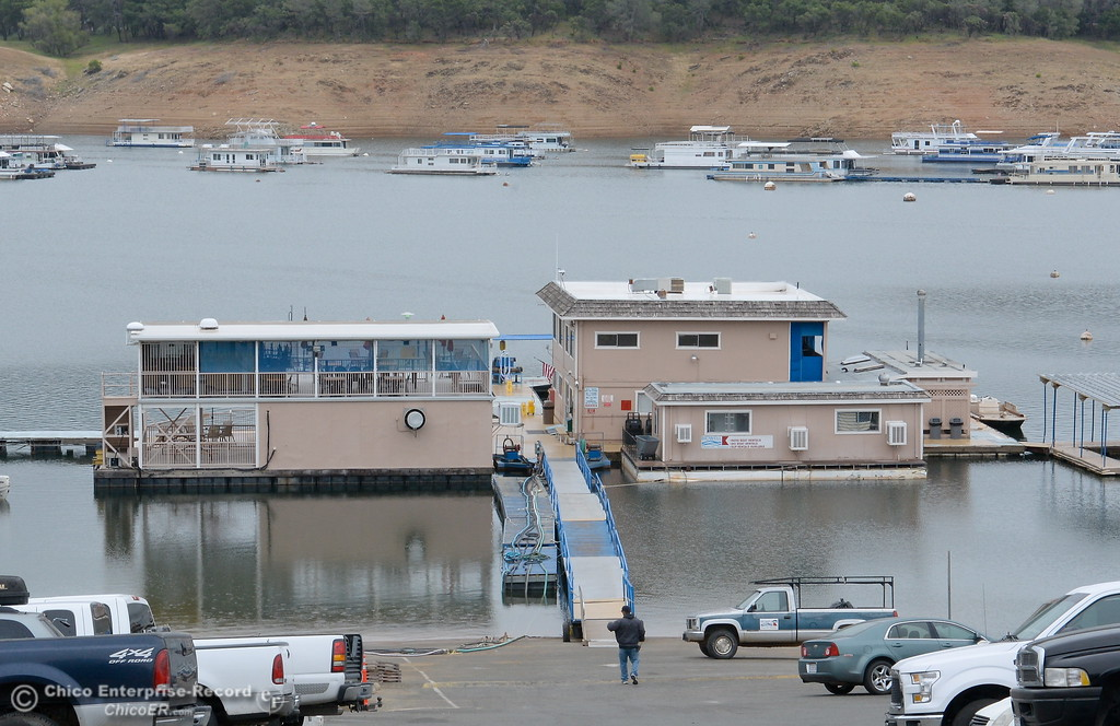. Bidwell Canyon Marina thrives with activity at Lake Oroville Tues. May 16, 2017. (Bill Husa -- Enterprise-Record)