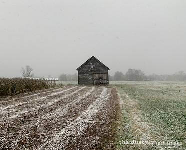 Slo-mo Snow Barn