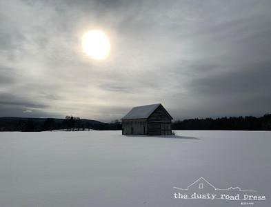 Sunglow Snow Barn