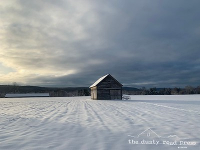 Soft Snow Barn