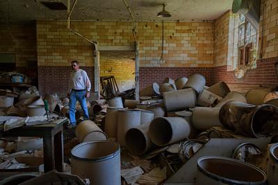 At the (defunct) Arkansas Tuburculosis Sanatarium, Booneville, AR, USA