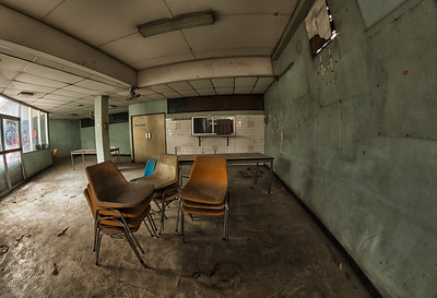 Abandoned Hospital in Bangkok, Thailand