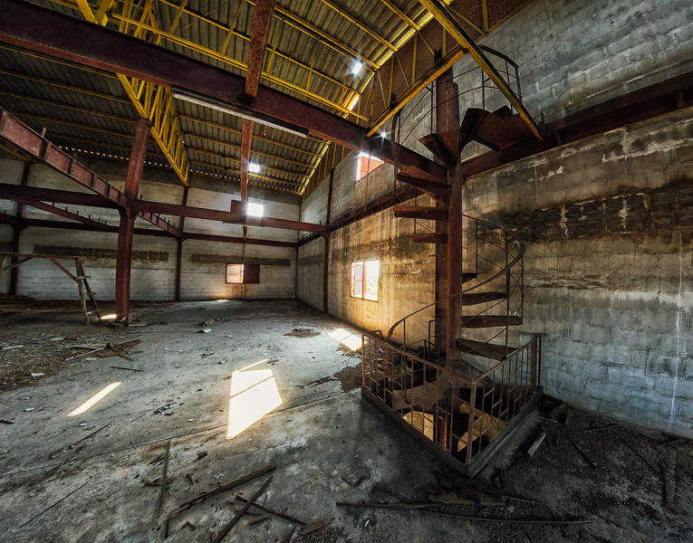 abandoned lacquer factory, Samut Sakhon Province, Thailand