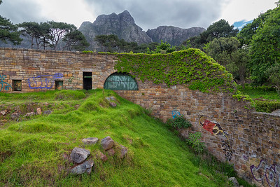 at the abandoned Groote Schuur Zoo in Cape Town, Western Cape, South Africa