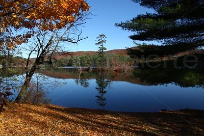 Reflection on Glass / The Adirondacks Collection / 2009 Autumn