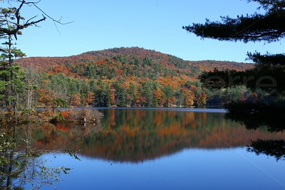 Reflection of Autumn Colors / The Adirondacks Collection / 2009 Autumn