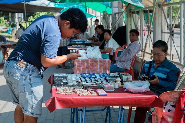 amulet market, Mahachai, Samut Sakhon Province