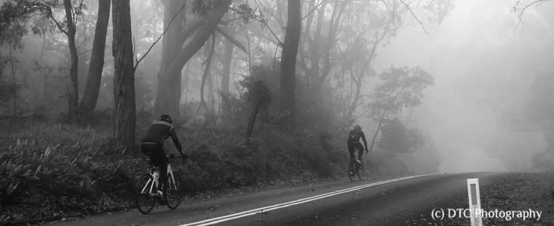 Riders in the mist, Mt Gibralter, Southern Highlands