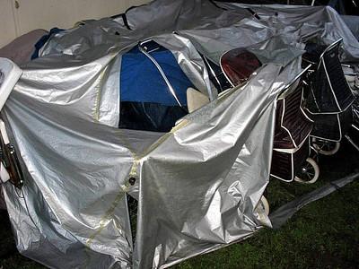 December storm damage - Christmas 2007