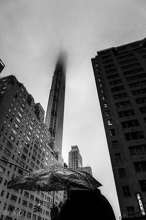 A rainy day in NewYork
