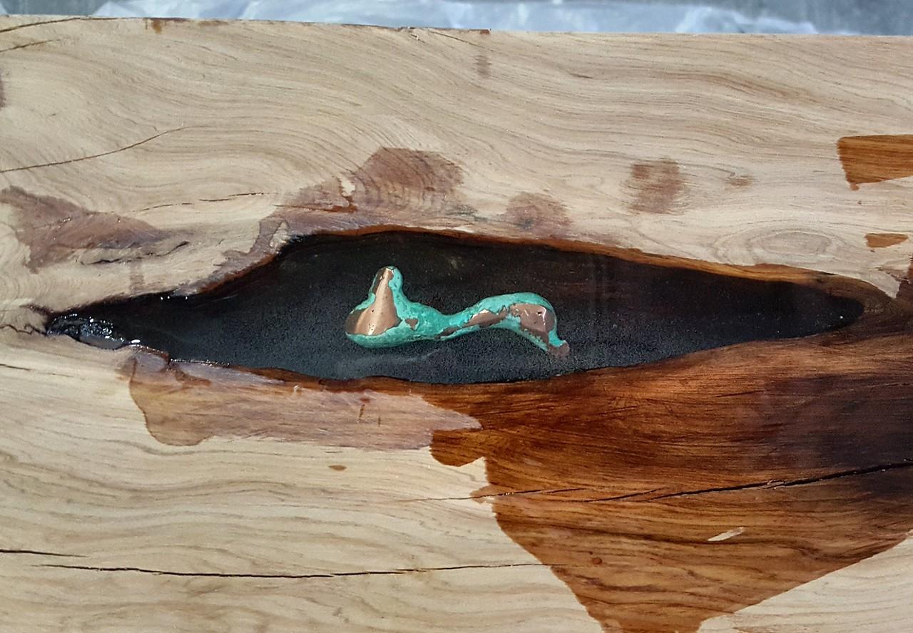 Copper from the Queen Mine in Bisbee Arizona