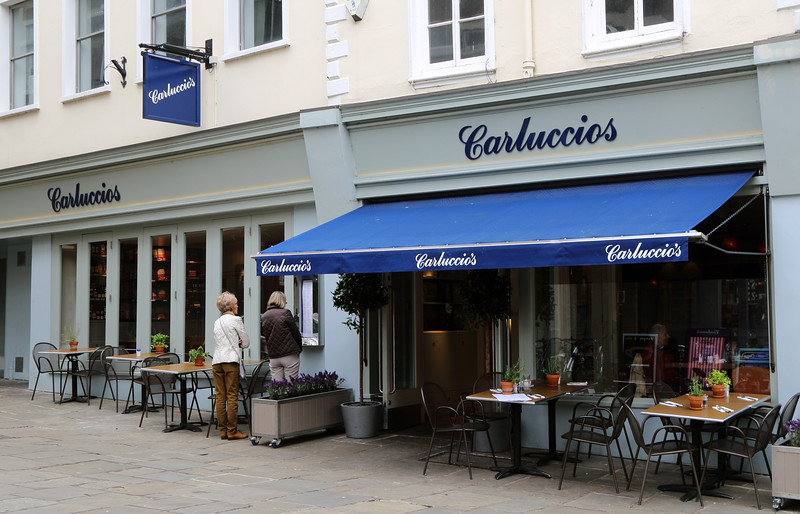 SHROPSHIRE WEEKEND.<br /> Carluccios, Shrewsbury review.