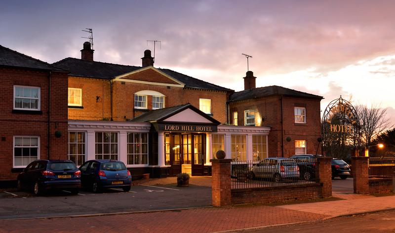The Lord Hill Hotel, Shrewsbury.
