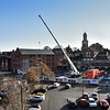 Student accomodation being built along side Barker Street, Shrewsbury.