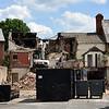 Castle Inn, Old Coleham being demolished.