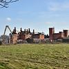 The Barracks, Copthorne Road, Shrewsbury being demolished.