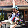 KRISTOPHER RADDER — BRATTLEBORO REFORMER<br /> Members of the New England Center for Circus Arts, in Brattleboro, put on a special performance for the residents at Thompson House Rehabilitation & Nursing Center on Wednesday, May 20, 2020.