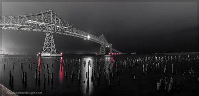 Astoria's gorgeous Megler bridge