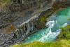 Iceland-JÖKLA-Jökulsá á Brú-Stuðlagil Canyon-Basalt formations