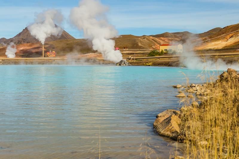 ICELAND-Bjarnarflag Geothermal Station