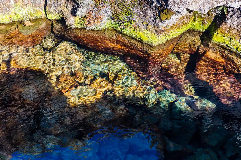 Iceland-Thingvellir National Park-Sky reflection