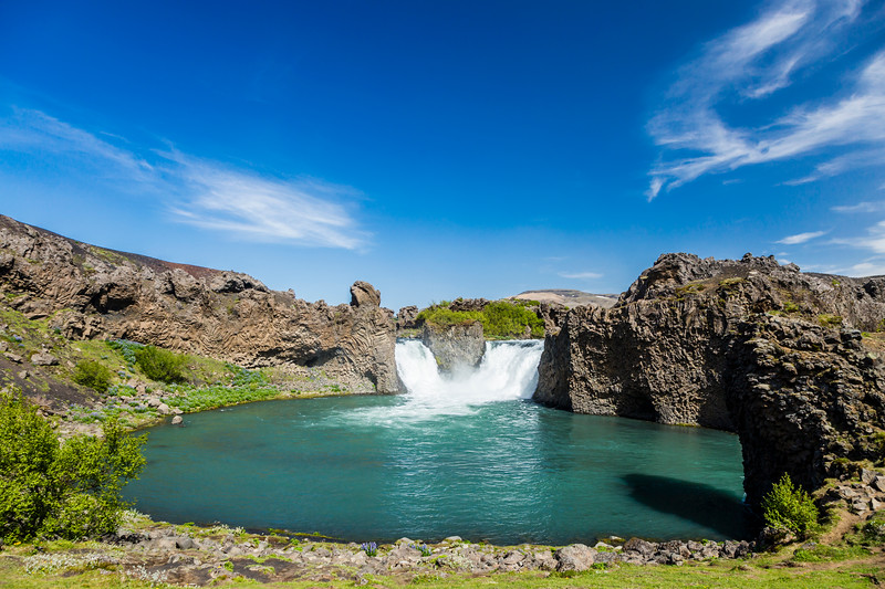 Iceland-Hjalparfoss