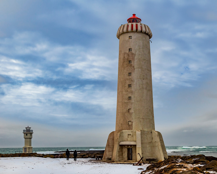 ICELAND-AKRANES-LIGHTHOUSES