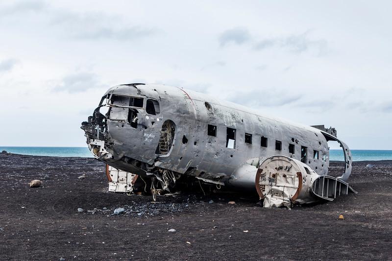 Iceland-Sólheimasandur-Plane Crash-U. S. Navy C-47/C-117