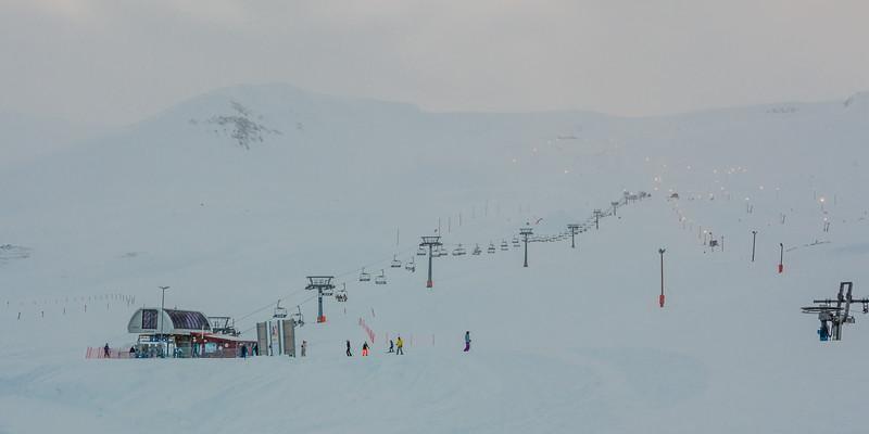 ICELAND-Akureyri-Hlíðarfjall SKI AREA