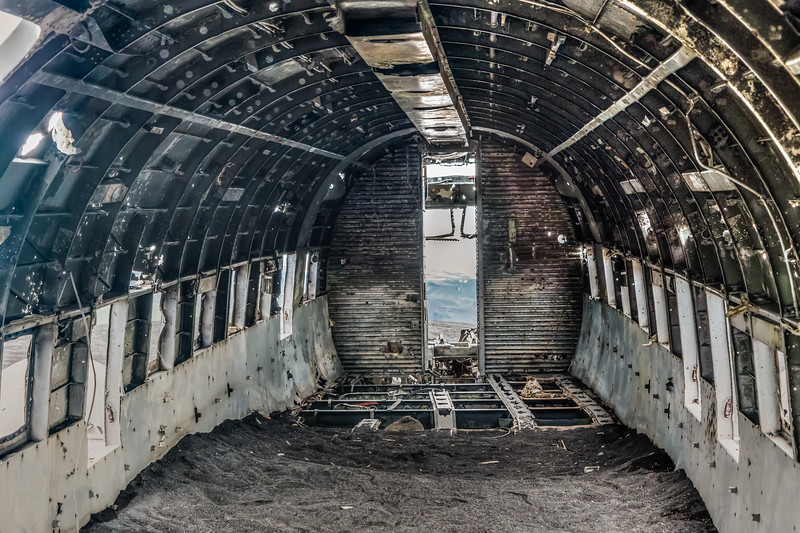 Iceland-Sólheimasandur- Plane Crash-U. S. Navy C-47/C-117