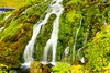 ICELAND-Gjáin waterfalls