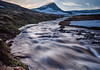 Iceland-Westfjords-Hesteyri-Hesteyrara [River] and Kagrafell [Mountain]