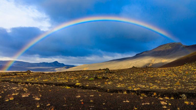 ICELAND-Hestalda-Rainbow