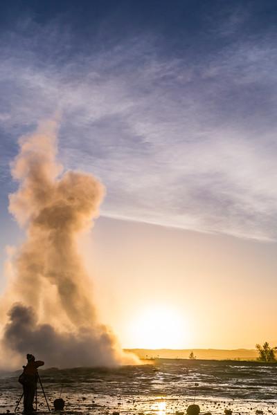 Iceland-Haukadalsvegur-Geysir Geothermal Field-Strokkur [the churn]