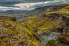 ICELAND- Þjórsárdalur valley-Fossa River