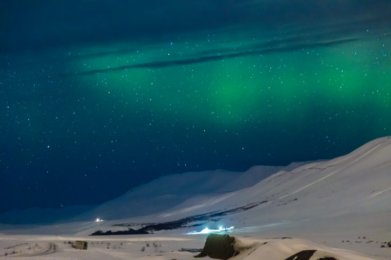 ICELAND-Vatnsleysa I-Northen Lights