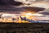 Iceland-Hellisheidarvirkjun Geothermal area steam vent